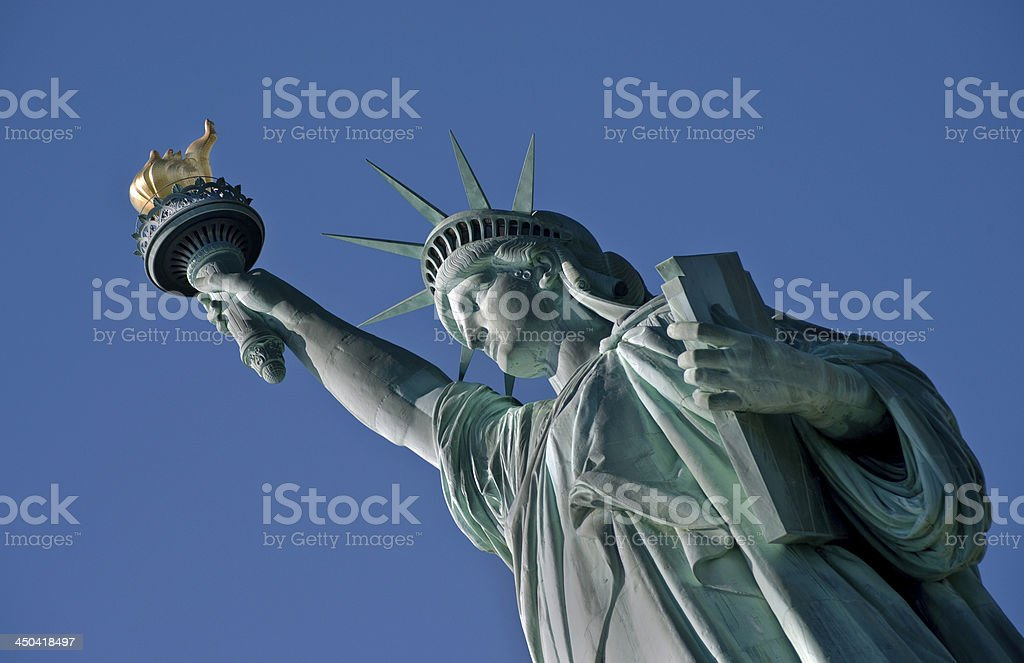 Statue of Liberty. stock photo