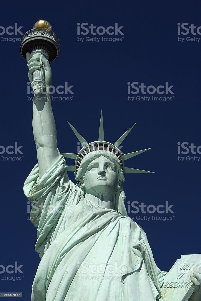 Estatua de la libertad foto de stock libre de derechos