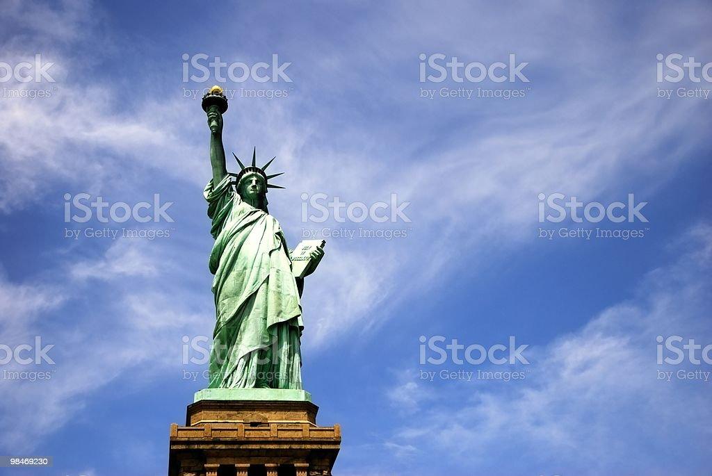 Statua della Libertà foto stock royalty-free