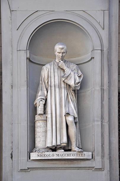 Statue von Macchiavelli, Firence – Foto