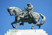 Statue of Mehmed Ali Pasha in Kavala, Greece