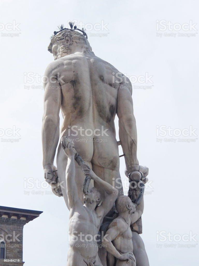 Fontana del Nettuno(fountain of neptune) statue of Neptune