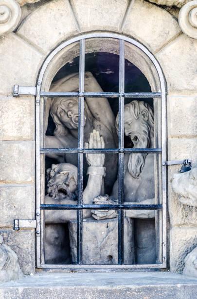 Statue der Menschen in Haft – Foto