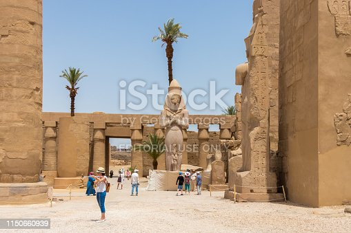 Tourists continued to swarm the historic sites of Karnak. Ramesses II, also known as Ramesses the Great, was the third pharaoh of the Nineteenth Dynasty of Egypt. He is often regarded as the greatest, most celebrated, and most powerful pharaoh of the New Kingdom.