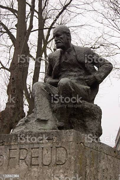 Statue Of Sigmund Freud Stock Photo - Download Image Now