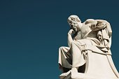 istock Statue of the ancient Greek philosopher Socrates in Athens, Greece 1282713996