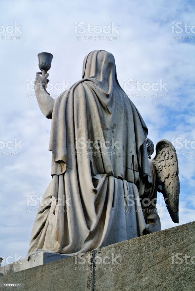 statue of the great mother to Turin stock photo