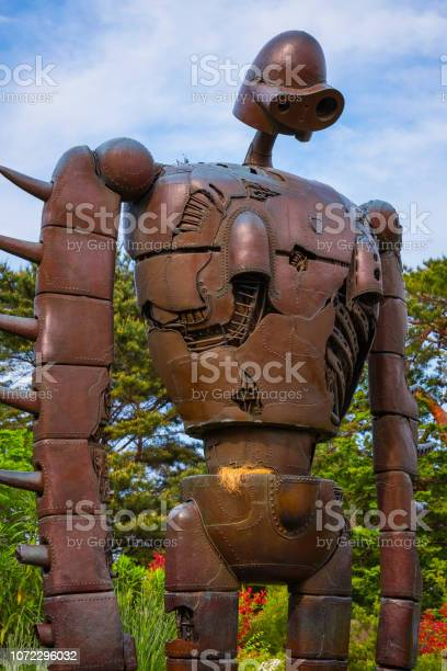 Statue of the robot at ghibli museum picture id1072296032?b=1&k=6&m=1072296032&s=612x612&h=fpvgcmfk7tr6kuysj 17bbnget8c9dhn 4fo9m6lu2m=