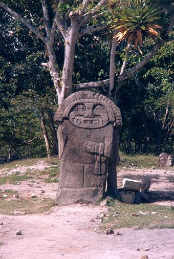 San Agustín Kültür Kolombiya Heykeli Stok Fotoğraflar & 1980-1989'nin Daha Fazla Resimleri