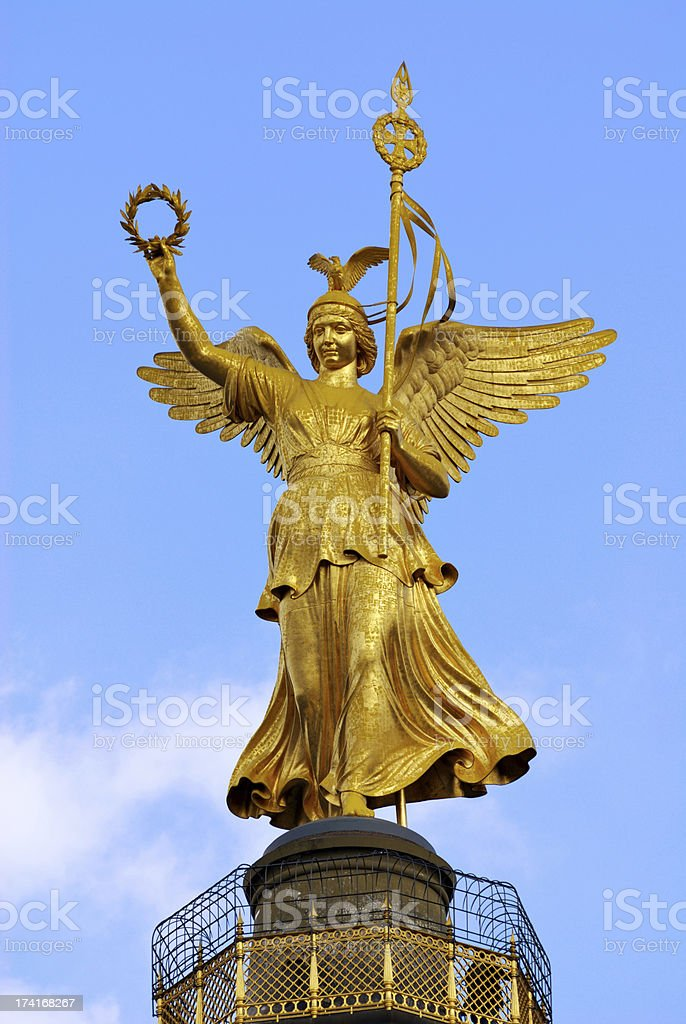 Statue of Victoria - berlin royalty-free stock photo