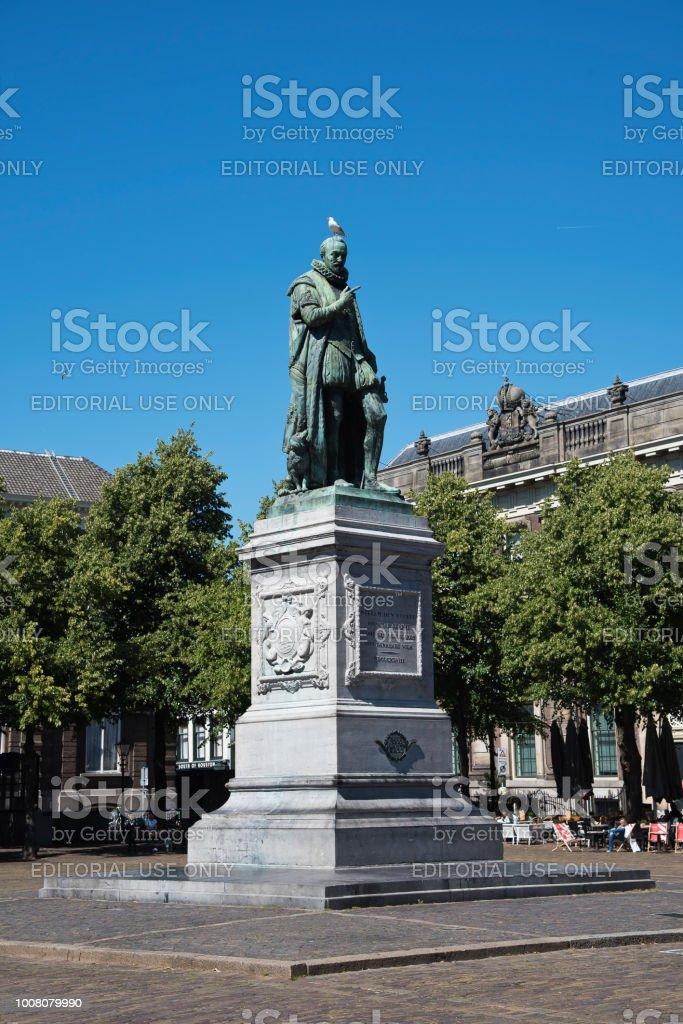 Statue von Wilhelm der Schweiger in Den Haag, Niederlande – Foto