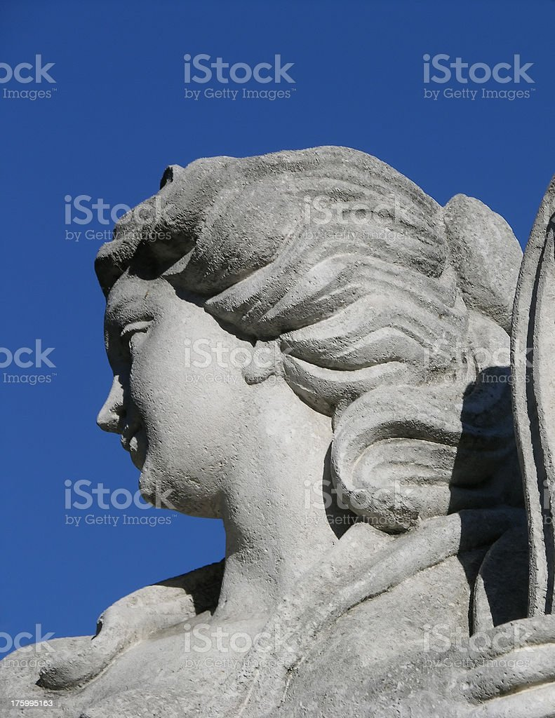 statue of woman 2 royalty-free stock photo