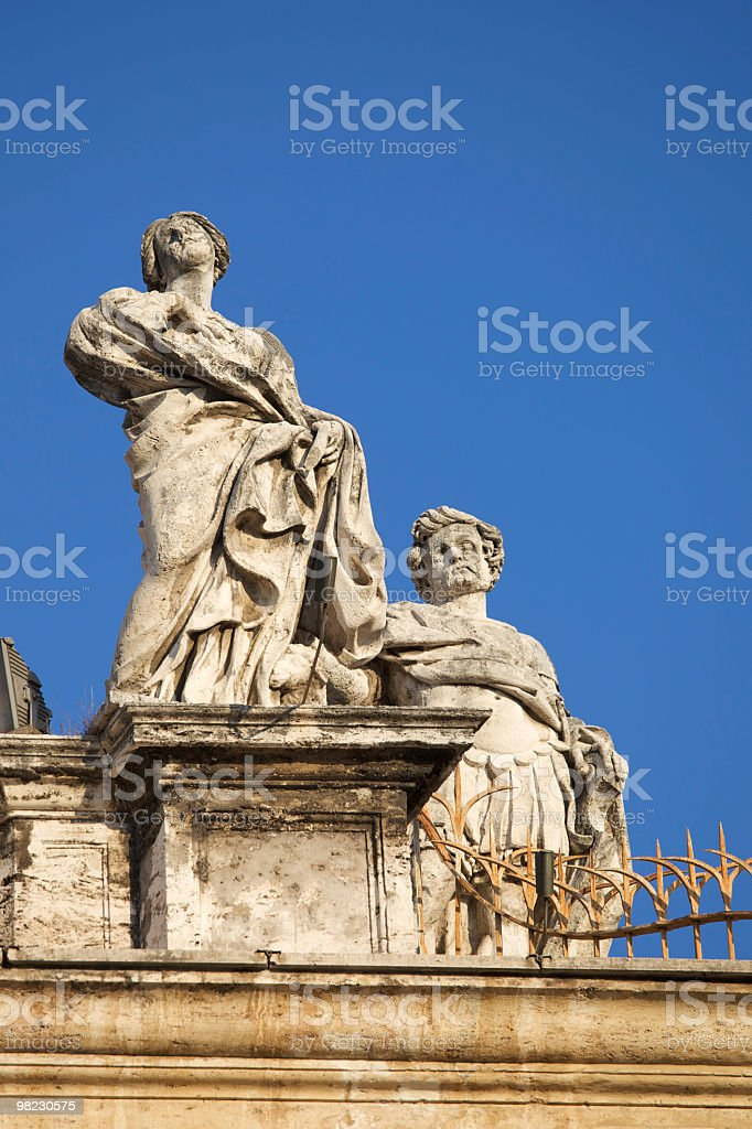 Statua foto stock royalty-free
