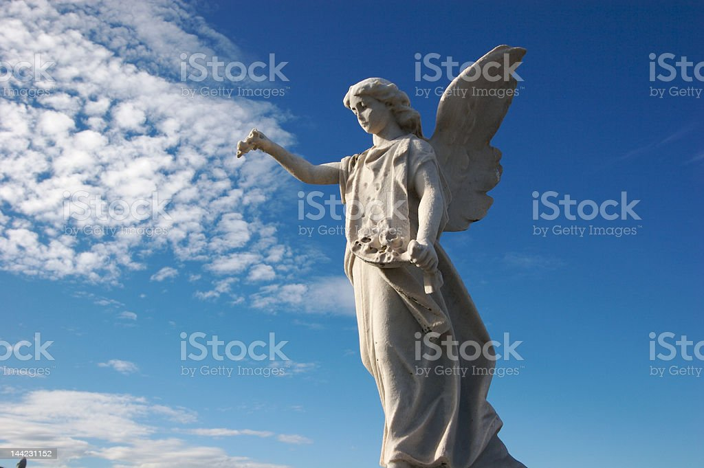 Statues for the Departed royalty-free stock photo