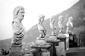 Statues in costiera Amalfitana (Italy)