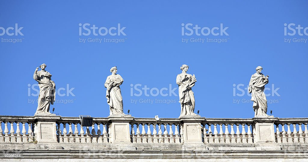 Statues royalty-free stock photo