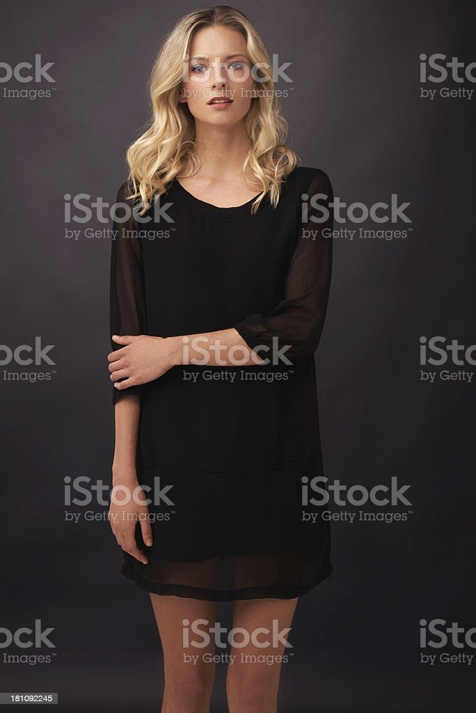 Statuesque elegance royalty-free stock photo