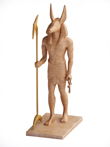 istock Statuette of Egyptian God Anubis 521779479