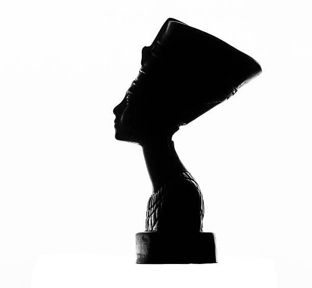 Statuette of Nefertiti stock photo