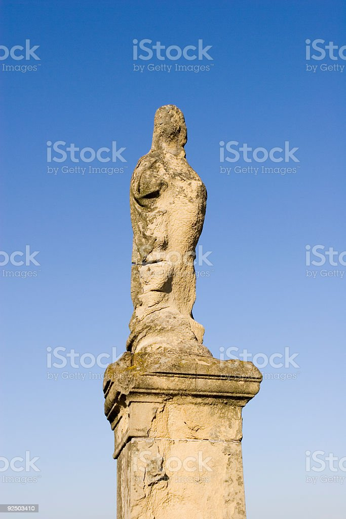 Statuette royalty-free stock photo