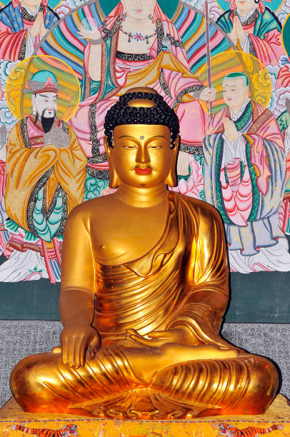 statur of the Buddha 불교 불상의 아름다움 bodhisattva stock pictures, royalty-free photos & images