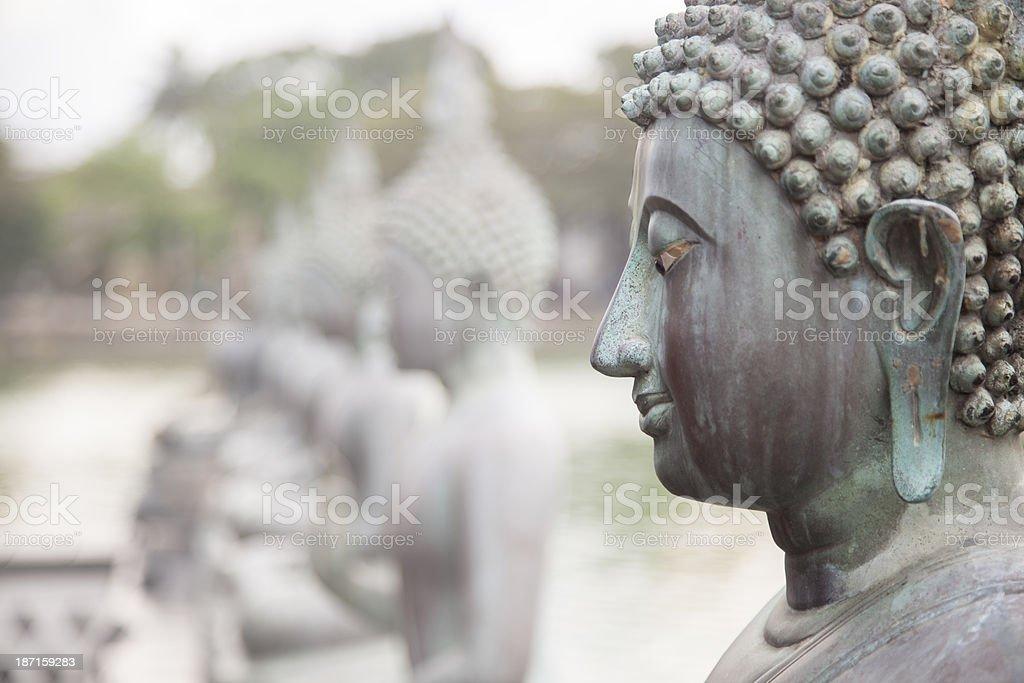 Statute Of Buddha royalty-free stock photo