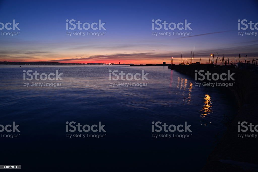 St.Aubin, Jersey, U.K. stock photo