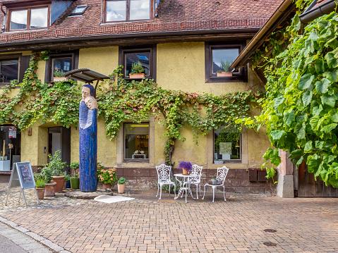 Staufen im Breisgau street view, Germany