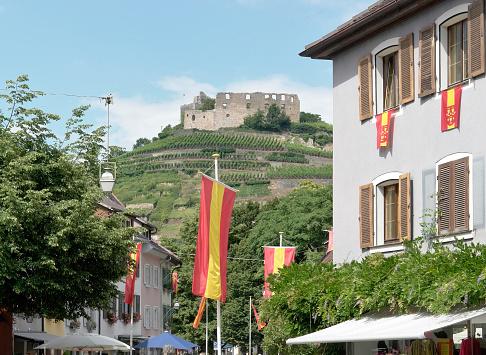 Staufen with castle ruin