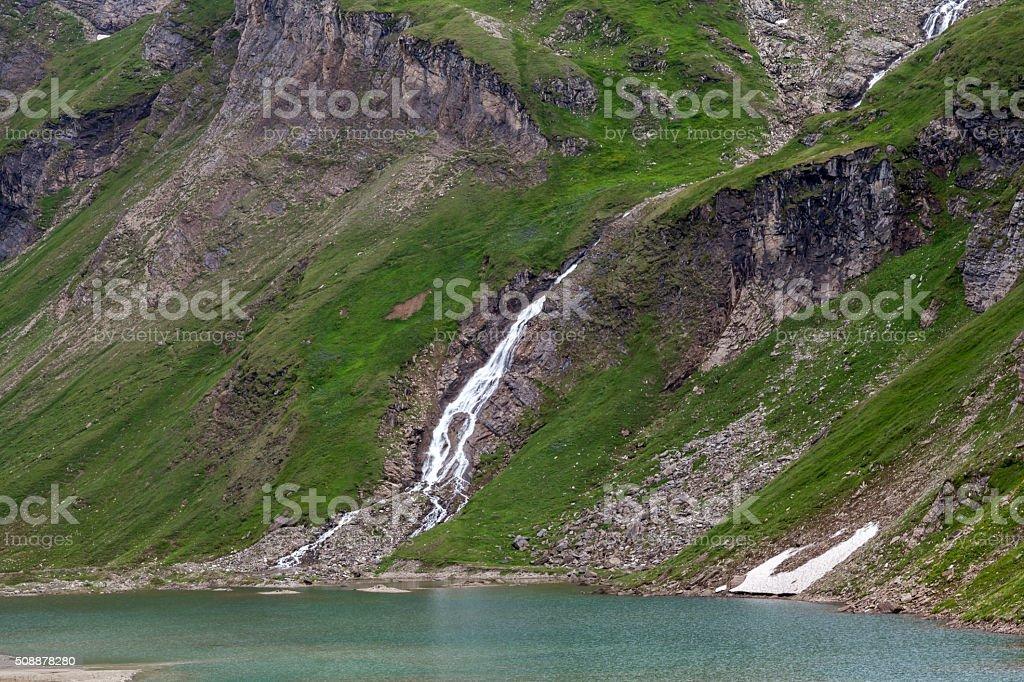 Stausee im Nationalpark Hohe Tauern stock photo