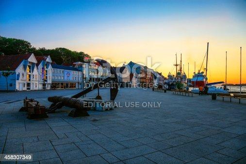 istock Stavanger by sunset 458307349