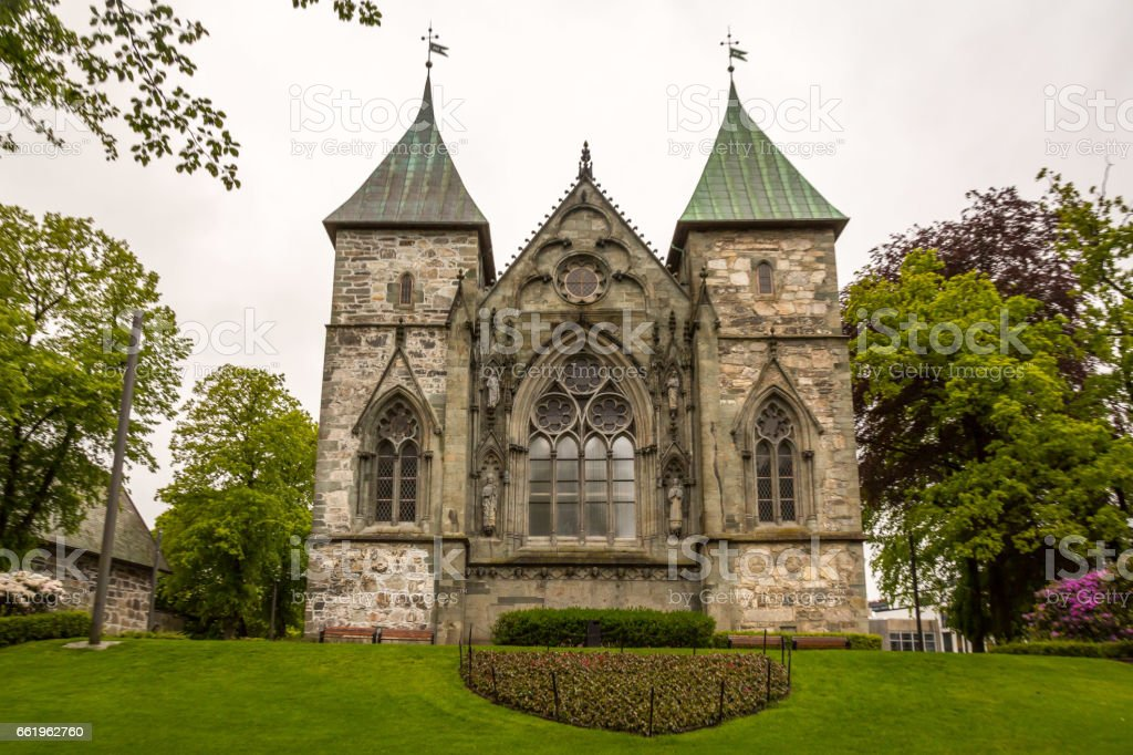 Stavanger Church royalty-free stock photo