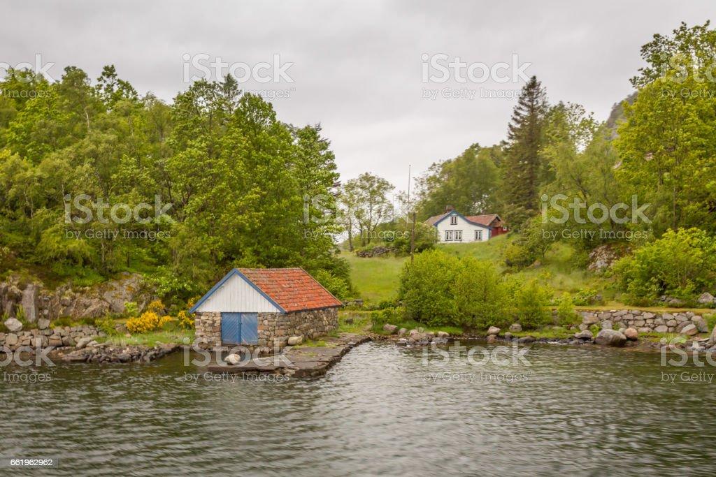 Stavanger Fjord royalty-free stock photo
