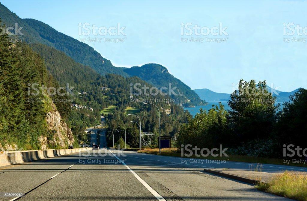 Stawamus Chief Provincial Park stock photo