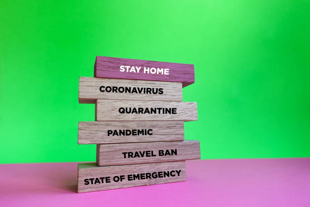 Stay at home concept with keyword. stock photo