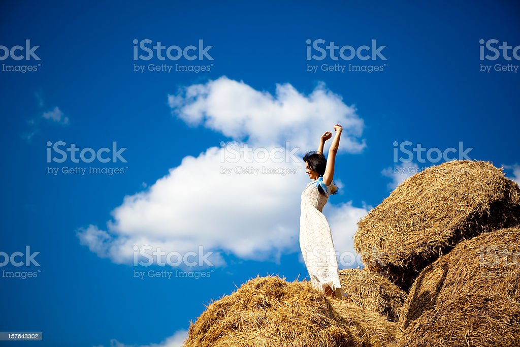 Stay by the heaven royalty-free stock photo
