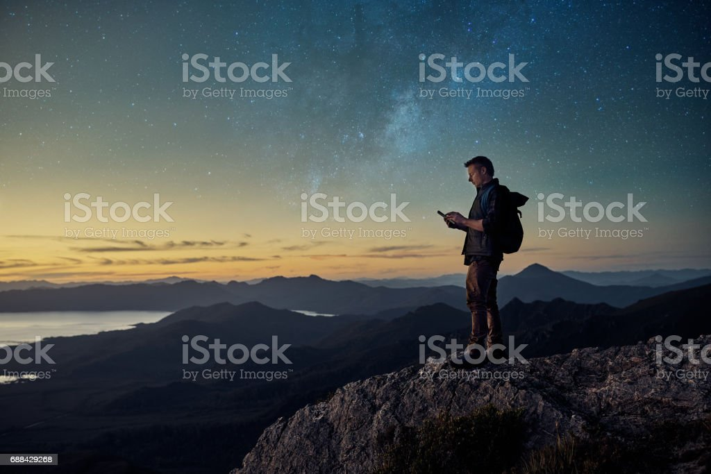 Stay connected, wherever you are stock photo