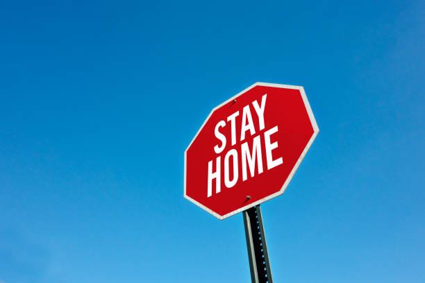 Bleiben Sie zu Hause – Foto