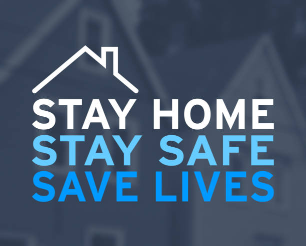 Stay Home, Stay Safe, Save Lives – zdjęcie