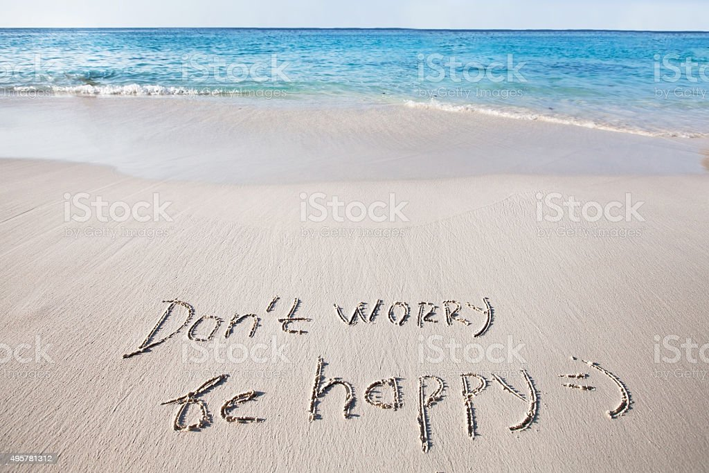 stay positive stock photo