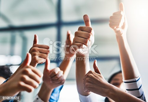 istock Stay positive 910835824