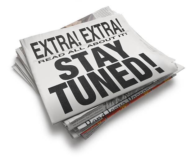 stay tuned! - stay tuned bildbanksfoton och bilder