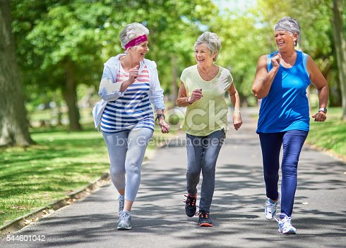 istock Staying active is key to healthiness and happiness 544601042