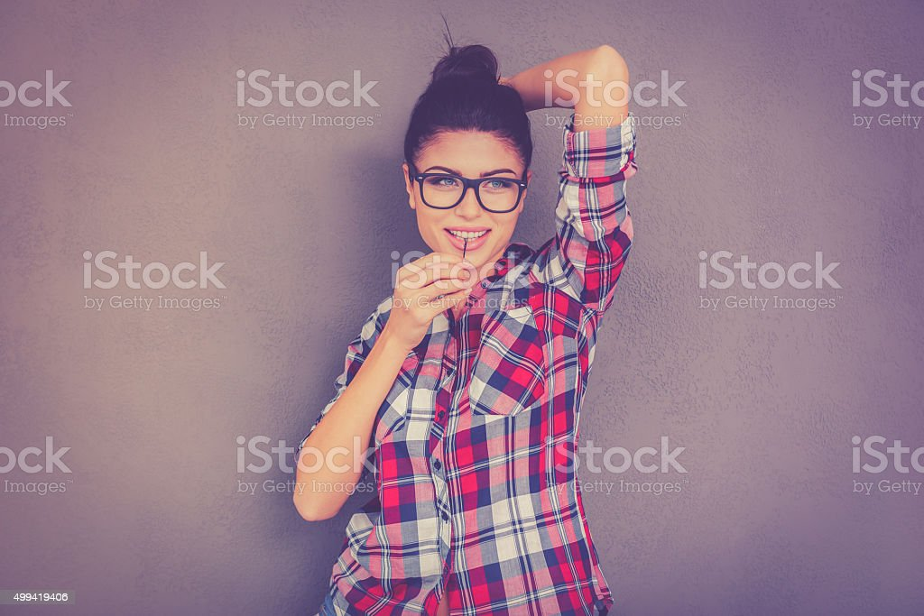 Staying casual. stock photo