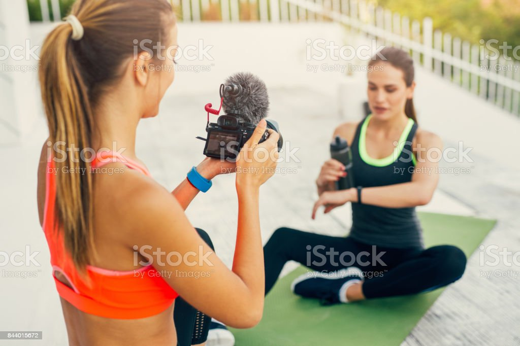Staying hydrated stock photo
