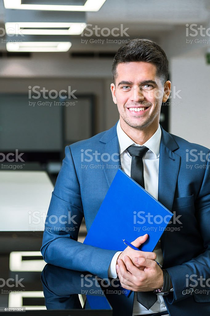 Staying positive and productive stock photo