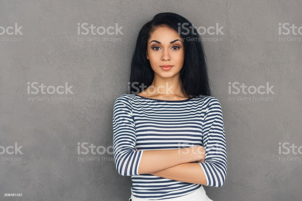 Staying real. stock photo