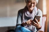 istock Staying smart tech savvy in her senior years 1091763764