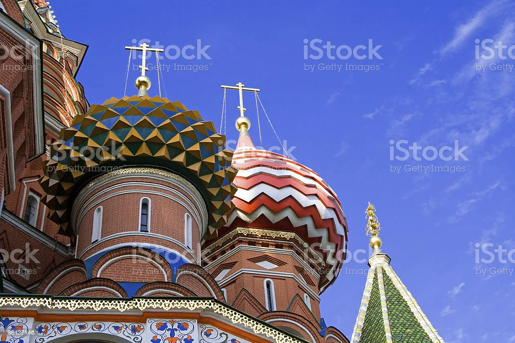 St.Basil Cathedral, Moscow royalty-free stock photo