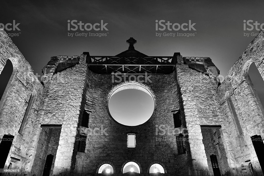 St.Boniface Cathedral stock photo